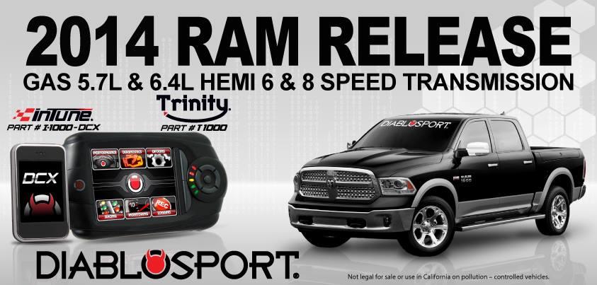 Diablosport announces support for the 6 4! | DODGE RAM FORUM