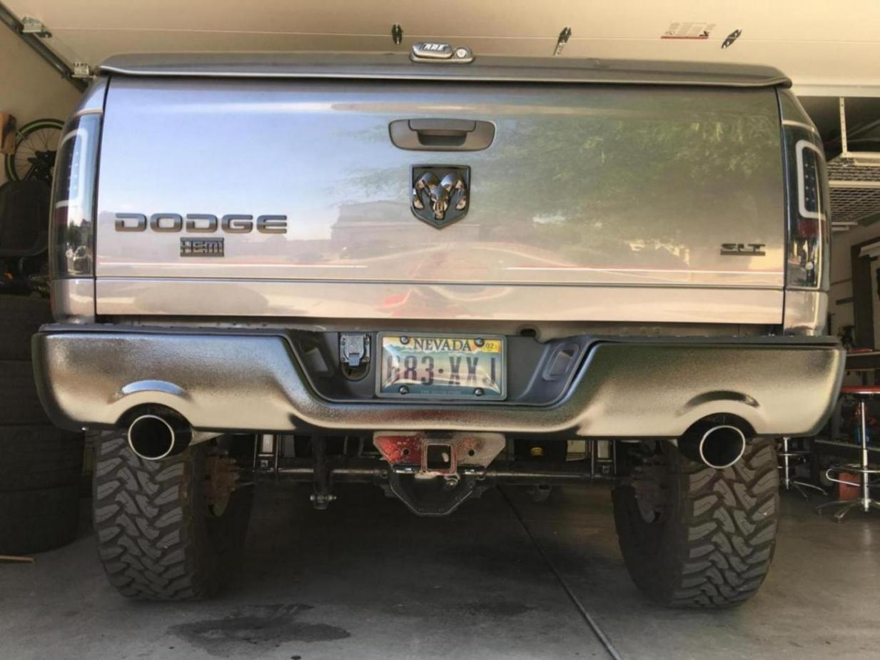 4th Gen Rear Bumper On 3rd Gen Truck Dodge Ram Forum