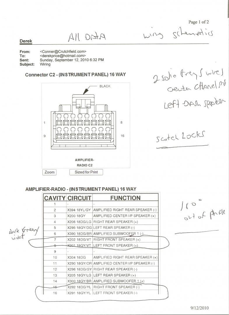 [DIAGRAM_4FR]  2009-2010 Dodge Ram (Alpine) Amp Wiring Diagram | DODGE RAM FORUM | Alpine Wire Diagram For Deck |  | dodge ram forum