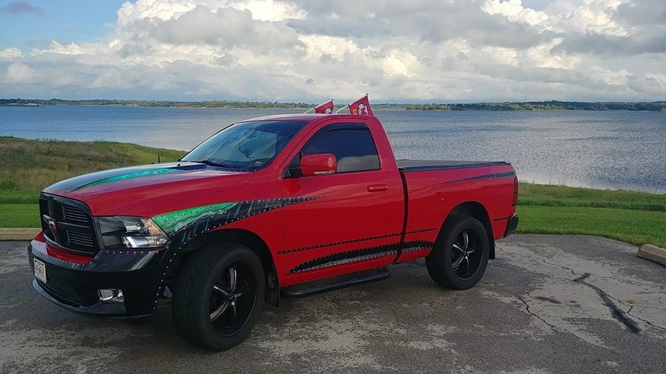 Showcase cover image for 2011 Ram 1500 Sport With Unique Paint