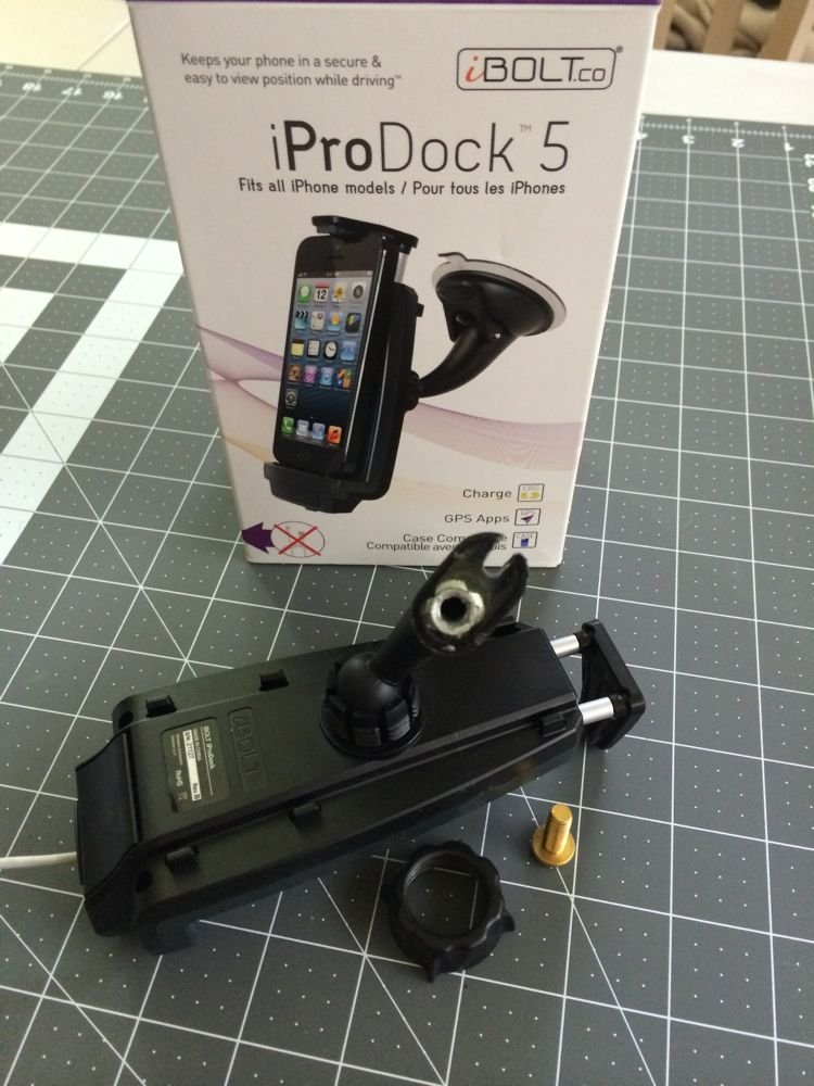 Phone dock install with hidden power cable | DODGE RAM FORUM