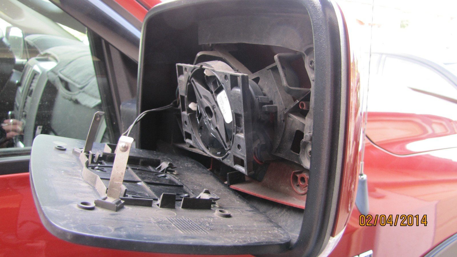 4th Gen Ram Mirror Disassembly Outer Shell Dodge Ram