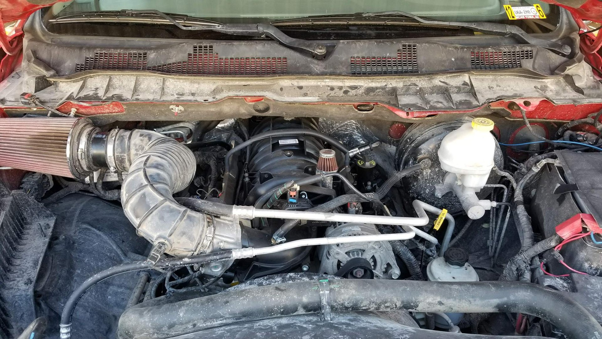 5 7 to 6 4 swap with pictures | DODGE RAM FORUM