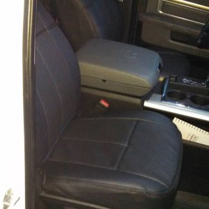 2013 Ram 1500 Crew Cab with Clazzio Seat Covers