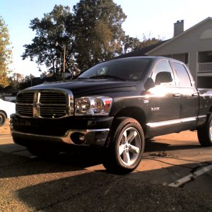 Black 2008 Dodge Ram SLT Big Horn