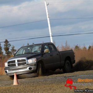 Ram at the Rally Cross!