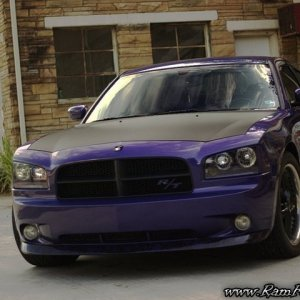 07 Plum Crazy Dodge Charger RT