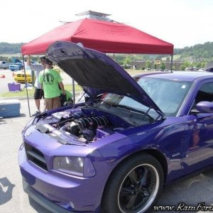 07 Plum Crazy Dodge Charger RT at Gatty