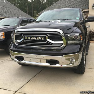 14 Big Horn 4x4 with new projectors and Limited grill